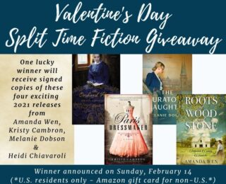 Don't forget to enter the Valentine's Day giveaway!